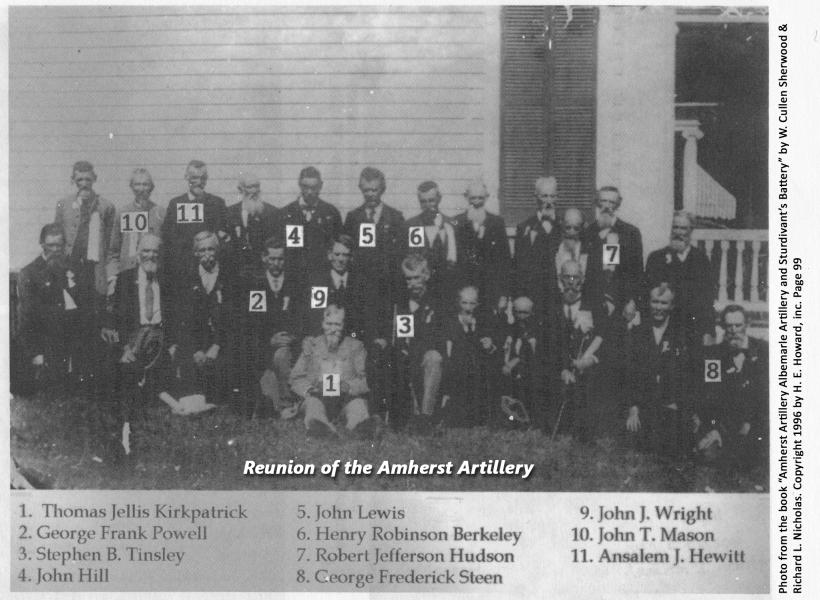 Amherst Artillery Reunion