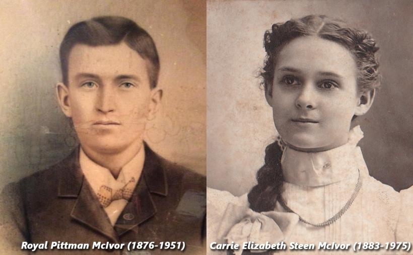 ROYAL&CARRIE MCIVOR